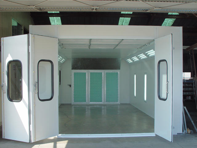 Auto Paint Spray Booths How To Rent A Paint Booth How